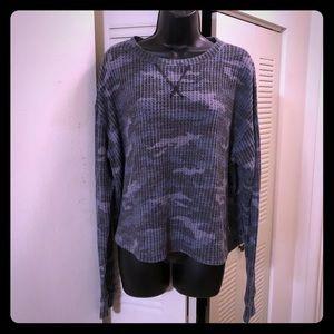 NWT Victoria's Secret Burnout Cozy Pullover